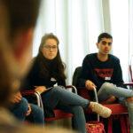 Jugendliche bei einer Veranstaltung des SV-Bildungswerkes